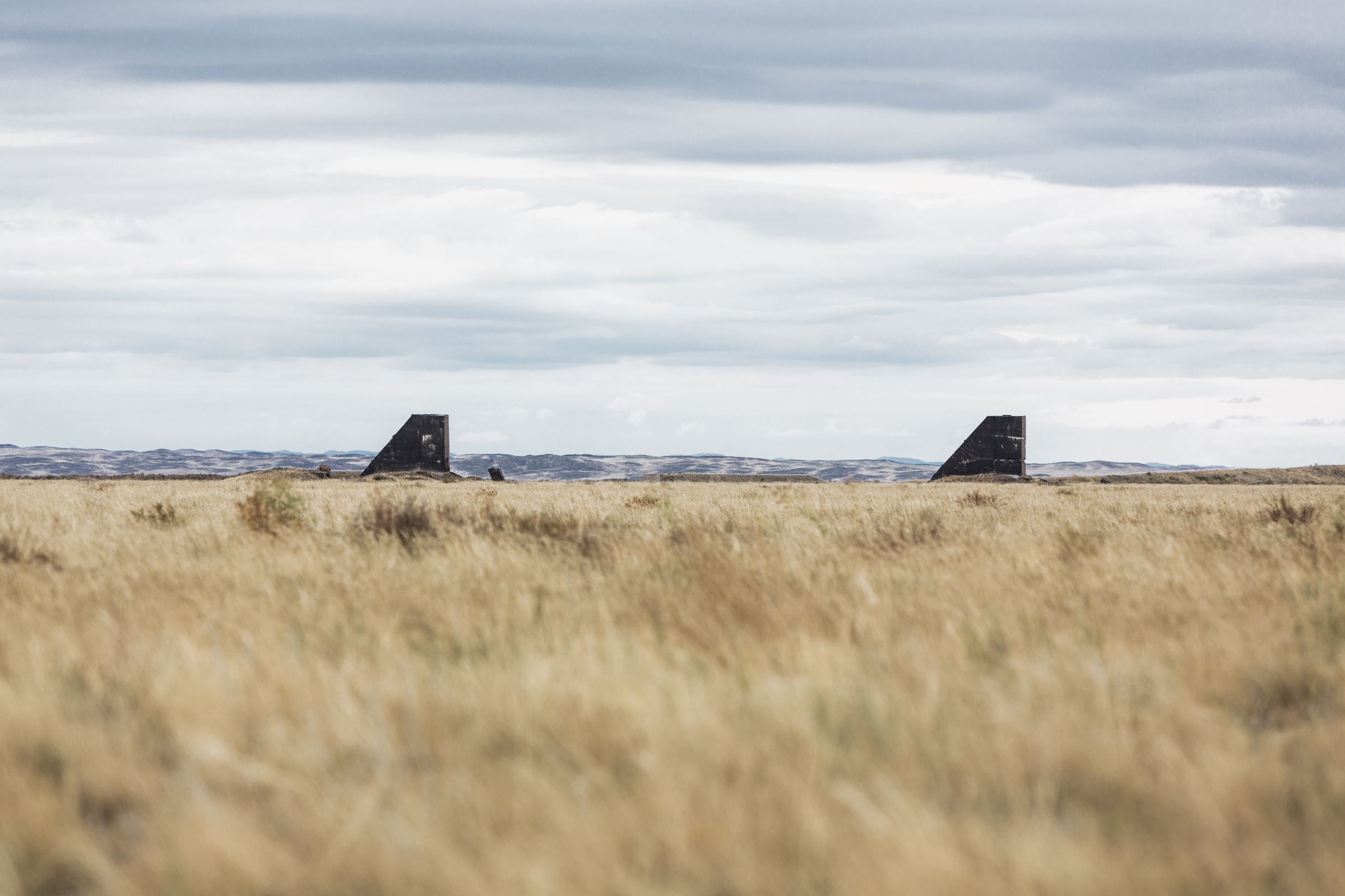 """The """"Polygon"""", the USSR's first nuclear bomb test site in Semipalatinsk, Kazakhstan."""
